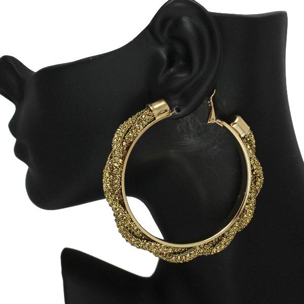 86537_Topaz, 60mm pave rhinestone hoop earring
